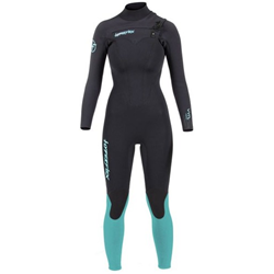 HYPERFLEX VYRL 4/3MM FRONT ZIP FULL LADIES