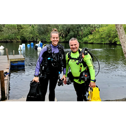 Aow Diver-private Class Inc Cert Card, Instructor Time, 5 Adventure Dives In The Springs