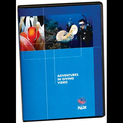 Adventures in Diving Multilingual DVD, (DU, E, F, P, S)