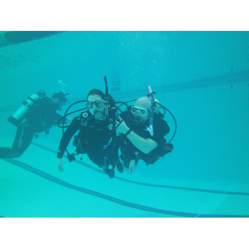 Adaptive Diver Instructor