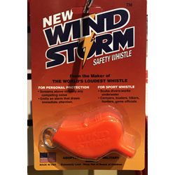 Wind Storm Whistle, Orange