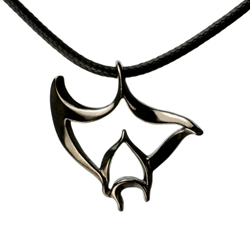 Hematite Manta Necklace