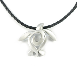 Pewter Turtle Necklace