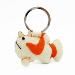 Keychain, Frogfish 'warty'