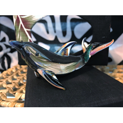 Fused Glass Dolphin
