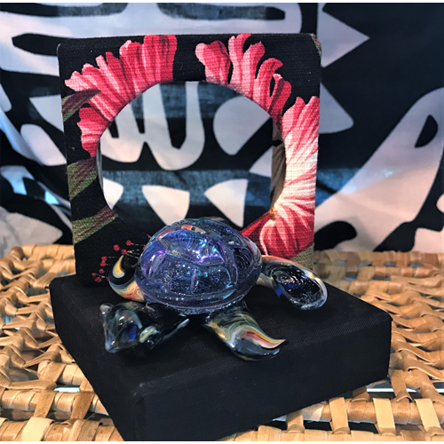 Fused Glass Honu - Medium