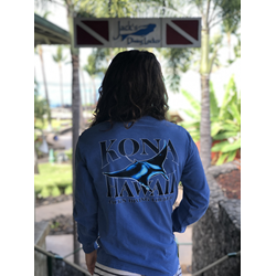Kona Manta Ray Long Sleeve Shirt