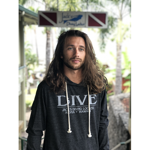 Dive Hawaiian Chain Lightweight Hoodie