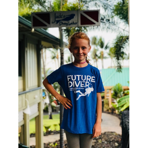 Future Diver Triblend Kid's T-Shirt