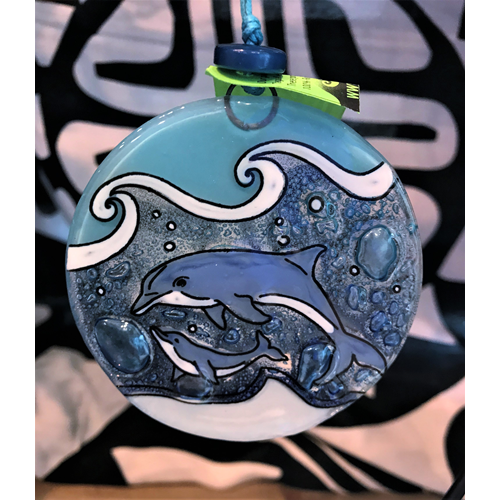 Dolphin Family Ornament