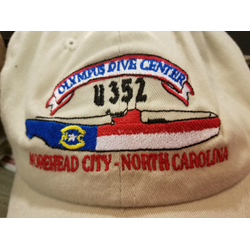 U352 Nc Flag Hat Blue