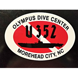 U352 Sticker (assorted Sizes)