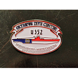 Hat Pin - U352/ Nc Dive Flag