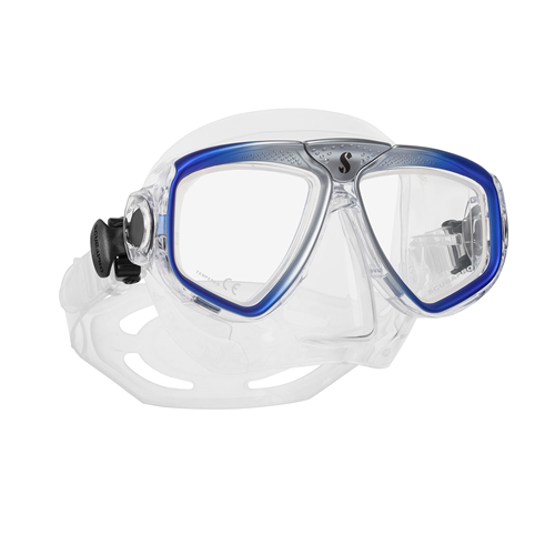 Zoom Evo Mask Blue/Clear Skirt