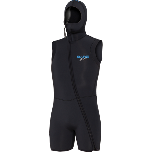 7MM SPORT S-FLEX STEP-IN HOODED VEST