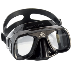 Superocchio Mask - Black / Black