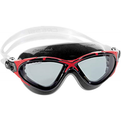 Saturn Crystal Mask - Black / Red / Tinted