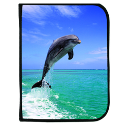 3-ring Binder Log Book - Live Dolphin