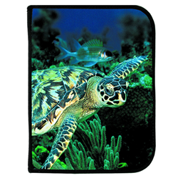 3-ring Binder Log Book - Live Turtle