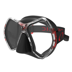 Cyanea Mask, Black/red