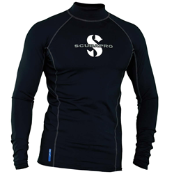 Black T-flex Mens, Long Sleeve (upf80)