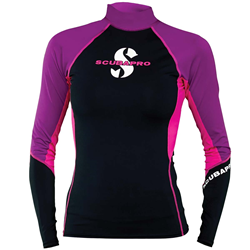 Jewel T-flex Womens, Long Sleeve (upf80) - Pink/purple