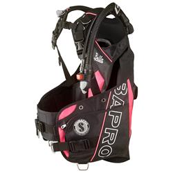Bella W/balanced Inflator - Black/pink