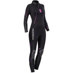 Definition Steamer 3mm Women's - Black / Pink