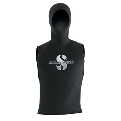 Hooded Vest - Unisex - Black -  2.5/0.5mm