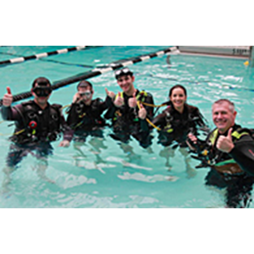 Open Water Class and Pool Private