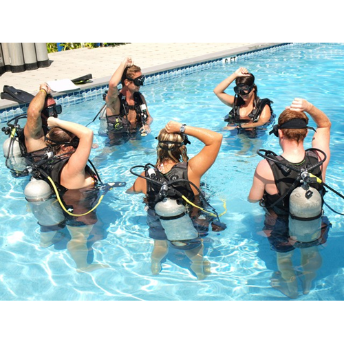 Confined Water Training for New Divers