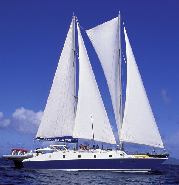 Cuan Law catamaran