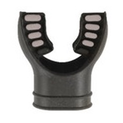 Mouthpiece - Black With Grey Tabs