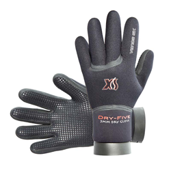 5mm Dry-five Glove , Small