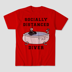 Socially Distanced Diver T