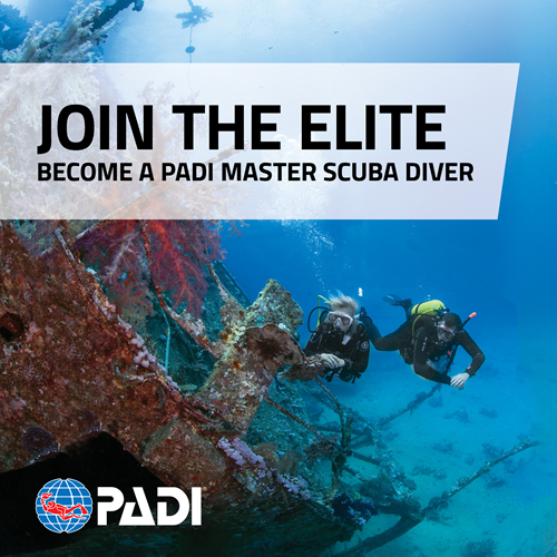 Master Scuba Diver Package
