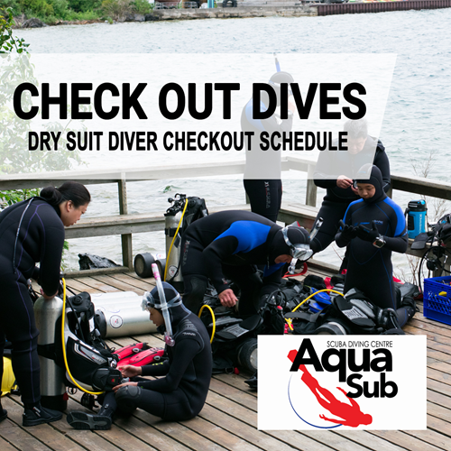 Dry Suit Checkouts