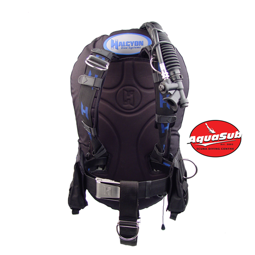 Eclipse 20-lb Bc System W/ Al Backplate, 6 Lb (2.7 Kg) Convertible Sta (without Acbs)