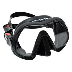 Venom Frameless Mask, Black