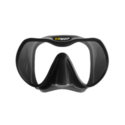 Xdeep Black Silicone Low Profile Mask