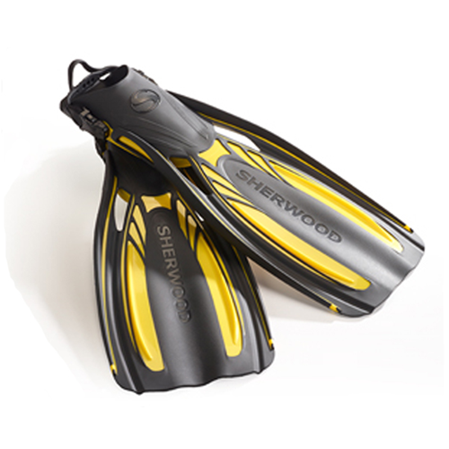 Elite Fins, Lemon Yellow - M