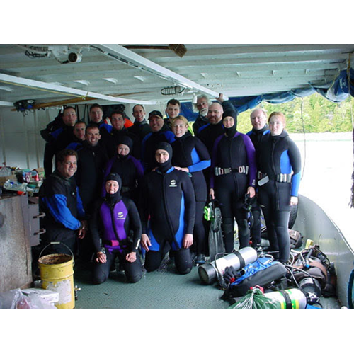 Tobermory  Dive Weekend - Diver Spot