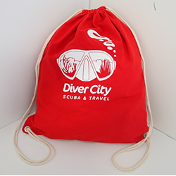 Diver City Drawstring Bag