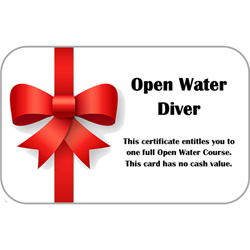 Open Water Course Gift Card