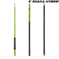 6' Travel-breakdown-carbon-fibre Polespear 3 - Piece