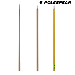 6' Travel-breakdown Polespear 3 - Piece