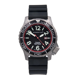 Torpedo Blast 44, Black+red, Black Diver Rubber