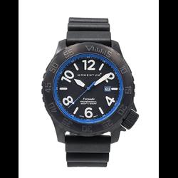 Torpedo Ion Blast 44, Black+blue, Black Diver Rubber