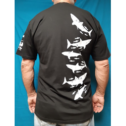 Recycled Crew Tee - White Shark