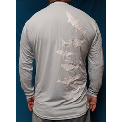 Recycled Beach & Boat Shirt - White Shark